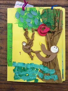 Sloth art project - photo#49