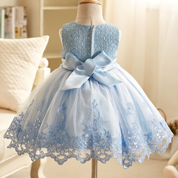 Vestido Princesa Meninas Fashion Elegante – Renda, Voal, Bordados, Apliques. Um Mimo.