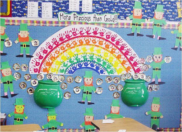 Classroom Theme Ideas For St Grade ~ St patrick s day classroom bulletin board idea