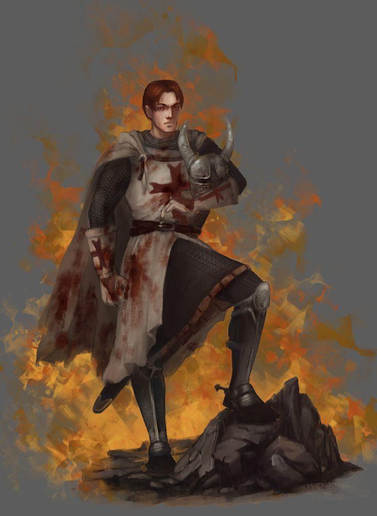 Templar, Anna Nikitina on ArtStation at https://www.artstation.com/artwork/YqZNY