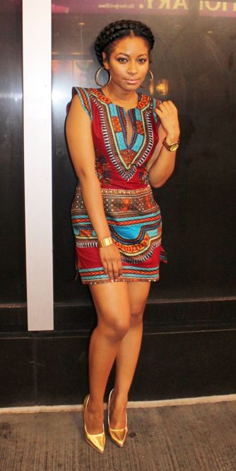 Amazing Dashiki dress for you beautiful  girl!!!