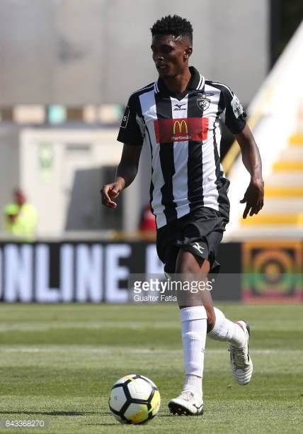 Portimonense SC defender Felipe Macedo from Brazil in action during the Portuguese League Cup match between Portimonense SC and GD Chaves at Estadio...