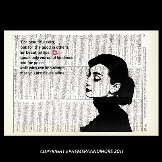 121 best Audrey Hepburn Art Black images on Pinterest