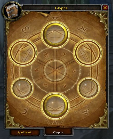 A simple look at the glyph interface.