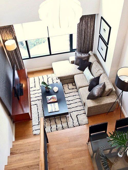 Cómo Sacar Todo El Partido A Un Salón Pequeño. Small Living Room ...