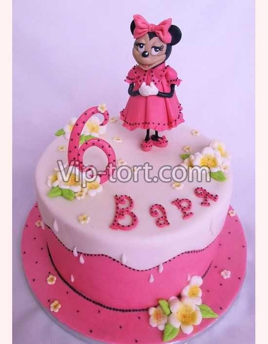 Детский торт вмикровалновке