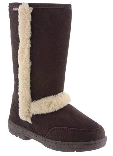 Womens Bearpaw Women's Eskimo Suede Sheepskin Snow Boot Online Size 37