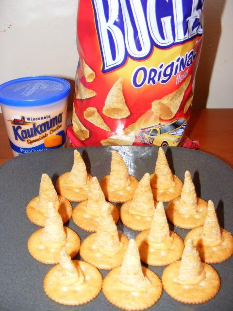 Halloween snacks | Over the Crescent Moon: Not So Sweet Halloween Treats