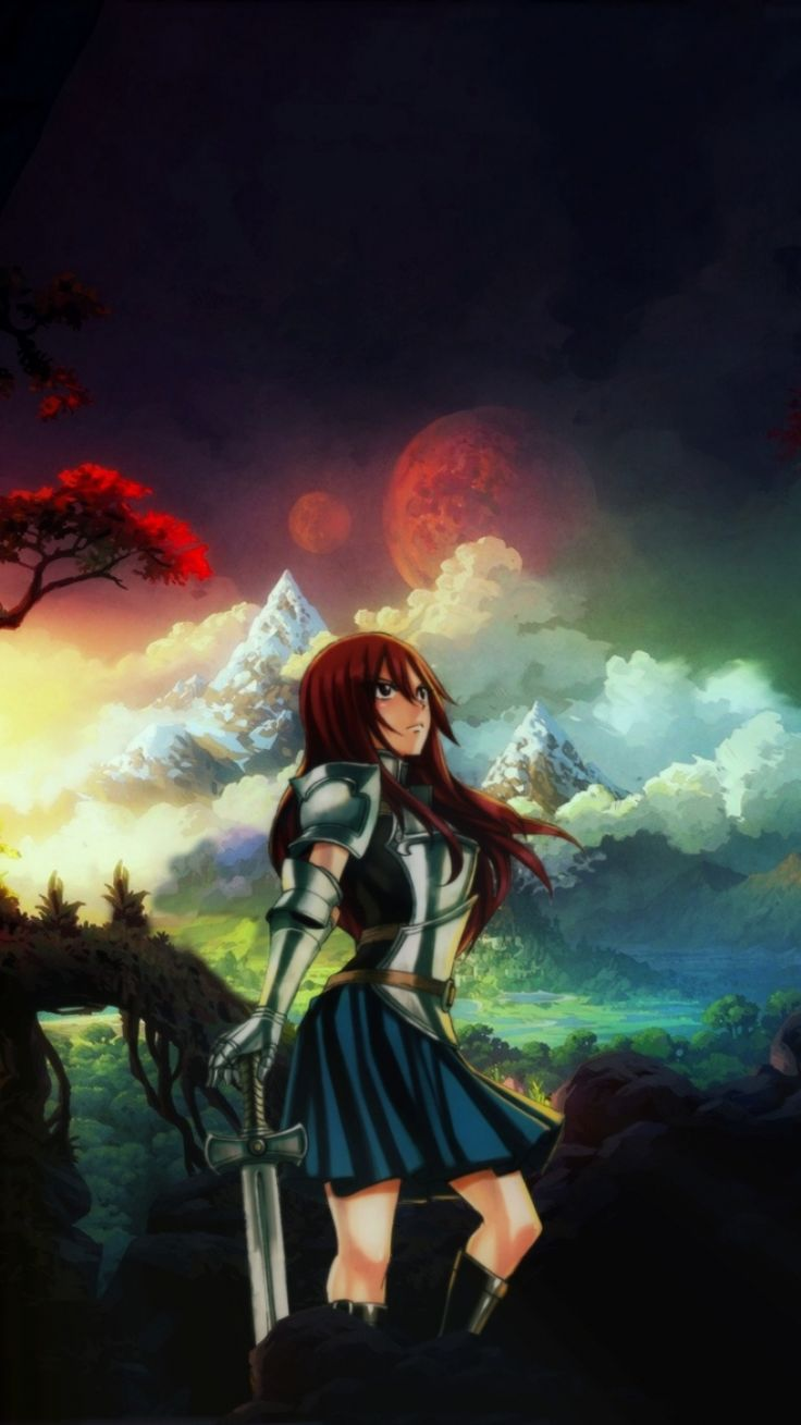 2922 best erza scarlet images on pinterest fairy tales - Mainframe wallpaper ...