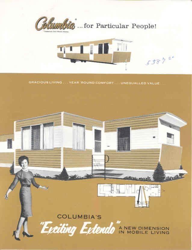51 best vintage house trailers images on Pinterest Mobile home - home for sale brochure