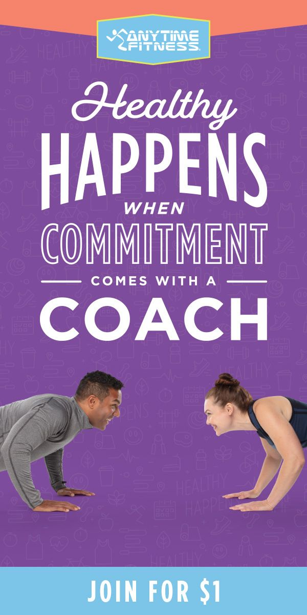 Join Anytime Fitness For 1 Get A Free Jump Start Training Package