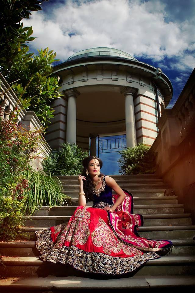 Outfit by:Ekta Solanki Photo by:Osman Ghani
