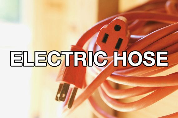 electric hose & 21 new and improved names for ordinary things horse tornado, dead peoples camp ground etc.