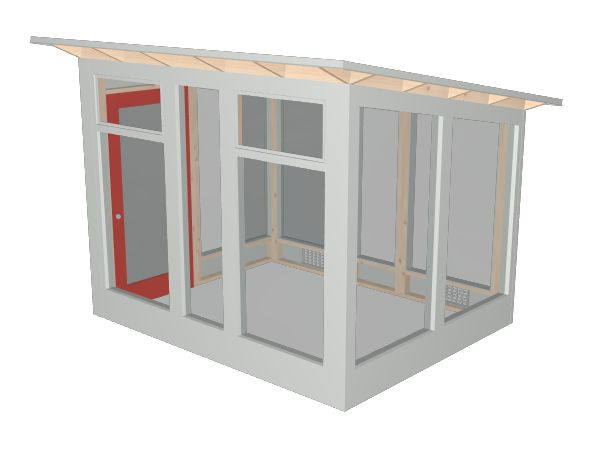 Design and build your own Studio Sprout with our 3D Configurator tool. Our modern, prefab sheds are perfect for your backyard garden storage.