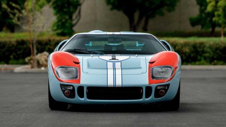 Replica Ken Miles Hero Gt40 Mkii From Ford V Ferrari Up For