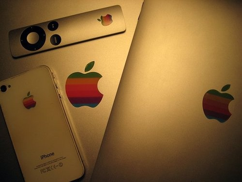 Retro Apple Sticker Pack