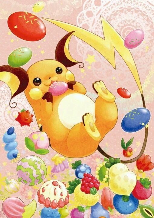 Pokemon Pichu Pikachu And Raichu Cylwvbw