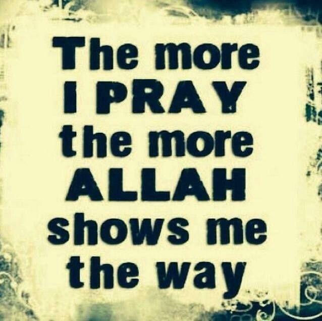 Pray so Allah shows you the way!   #Prayer #Islam #Allah