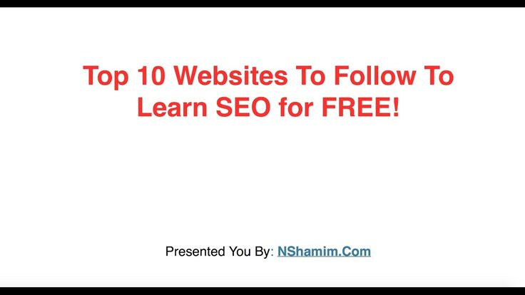 News Videos & more -  Top 10 Websites For Learning SEO Online For FREE - Bangla Tutorial #Music #Videos #News Check more at https://rockstarseo.ca/top-10-websites-for-learning-seo-online-for-free-bangla-tutorial/