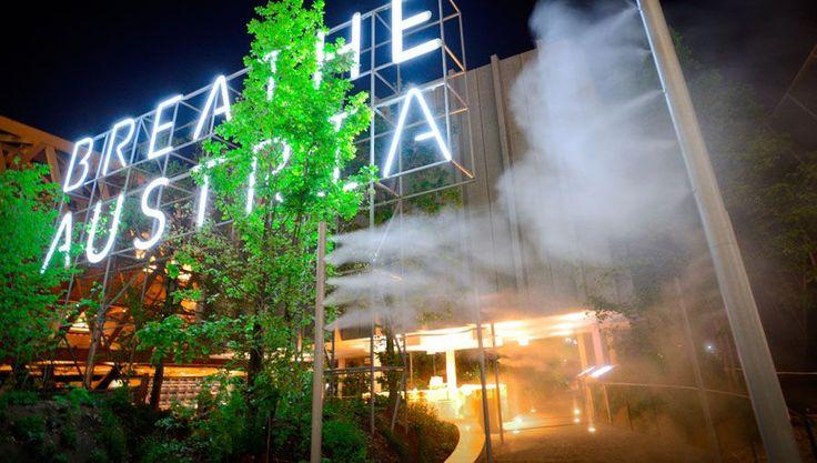 Zumtobel implements illumination of the Austrian pavilion of EXPO 2015 in Milan.