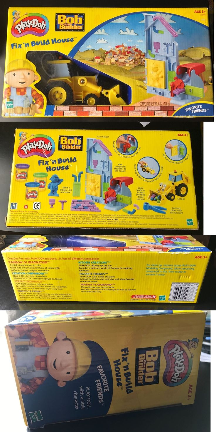 Bob the builder live online dvd rental - Play Doh Modeling Clay 11740 New Play Doh Bob The Builder Fix N
