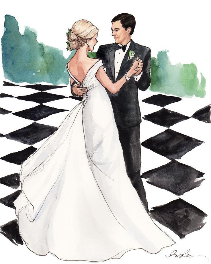 Скетч свадебная открытка, картинка текстом про