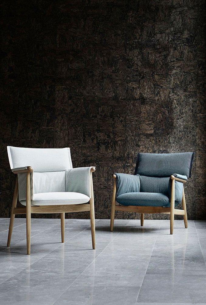 Embrace armchair, by Carl Hansen