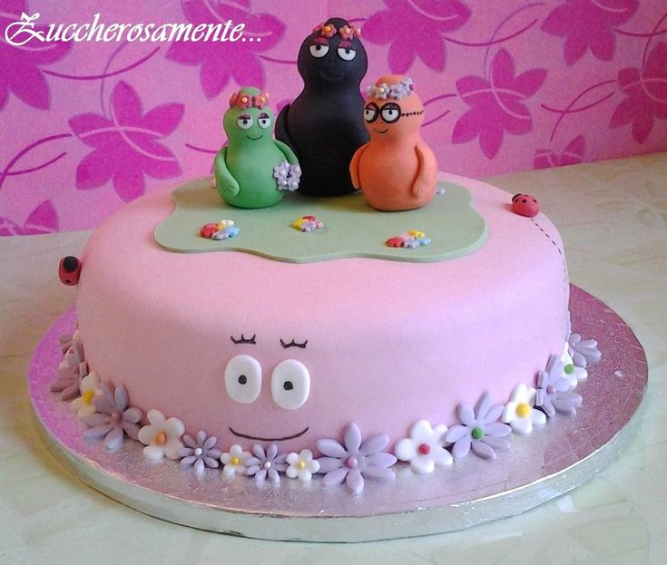 Barbapapà Cake By Zuccherosamente Cakesdecorcom more at Recipins.com