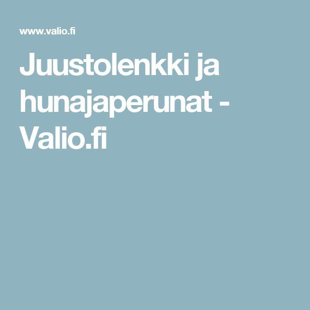 Juustolenkki ja hunajaperunat - Valio.fi