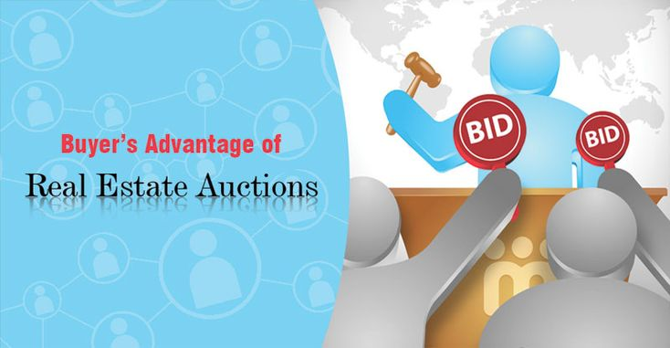 Buyer's Advantage of Real Estate Auctions