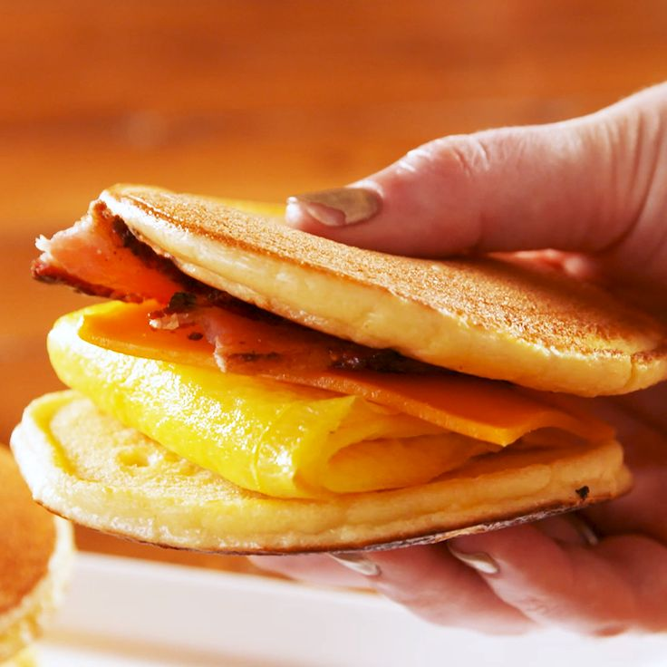 Keto Breakfast McGriddle