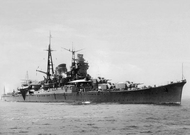 "IJN Heavy cruiser ""Mogami"" of the Imperial Japanese Navy! 日本海軍重巡洋艦-最上"