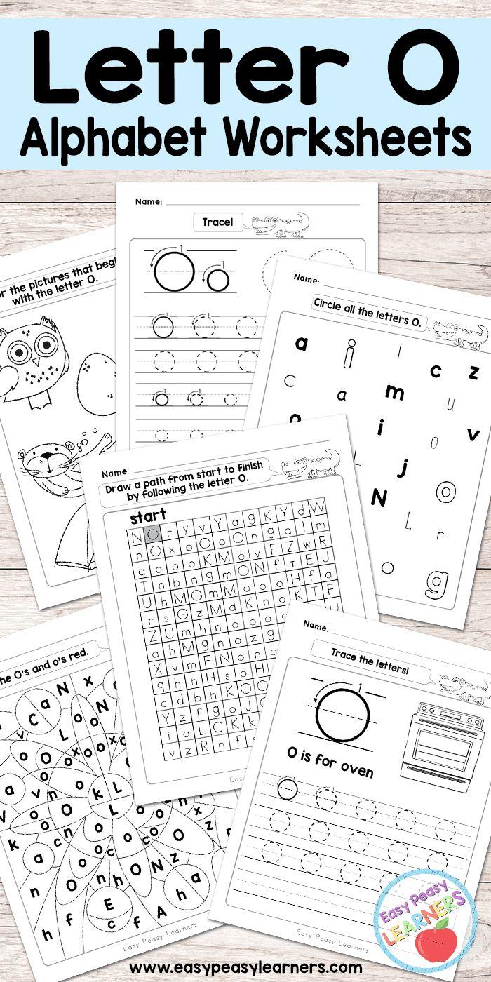 Free Printable Letter O Worksheets