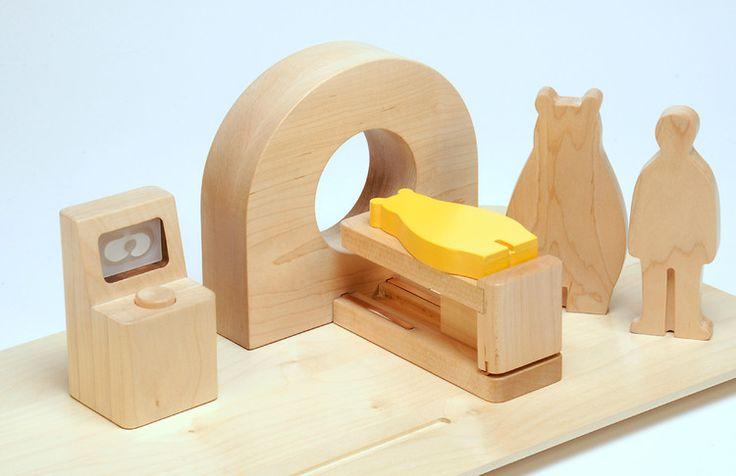 Elegant Toys That Explain Scary Medical Procedures To Kids.  Designed by HIRAKU IMAMURA