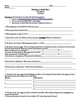 Printables Internet Scavenger Hunt Worksheet 1000 ideas about internet scavenger hunt on pinterest esl wwi freebie from teachers pay teachers