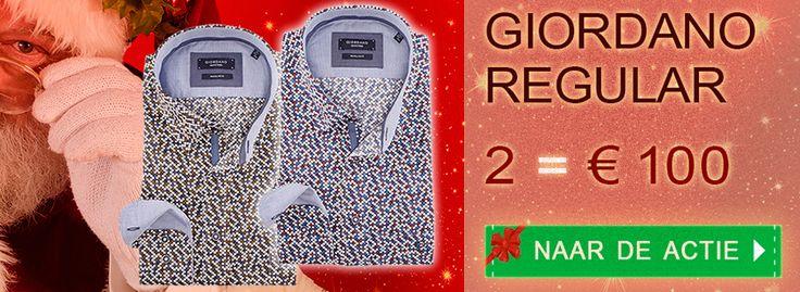 Aantrekkelijke Kerstaanbieding voor #Giordano Italiaanse #overhemden: #Regular Fit nu extra laag geprijsd. Bekijk de ruime collectie op https://www.shirtsupplier.nl/nl/voordeelpacks/filter/pack/34