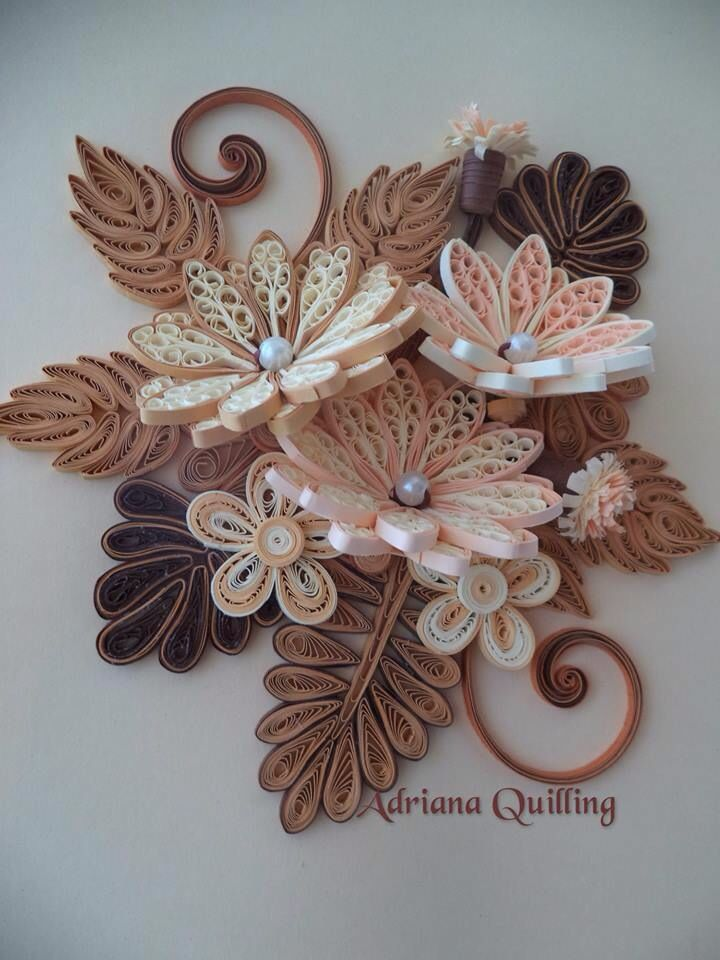 17 best images about beautiful quilling on pinterest for Big quilling designs