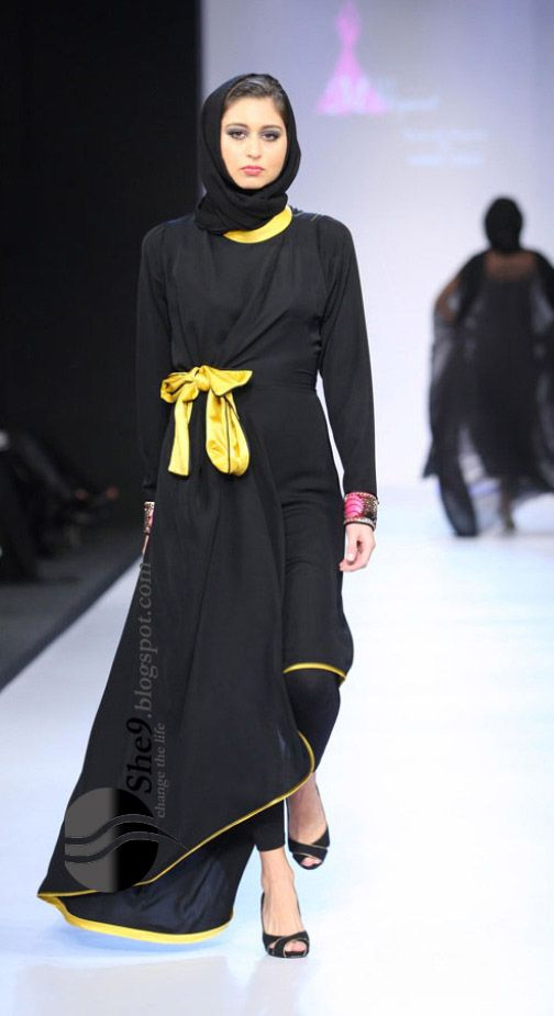 2012 Abaya Fashion (Totally Grace Kelly!)