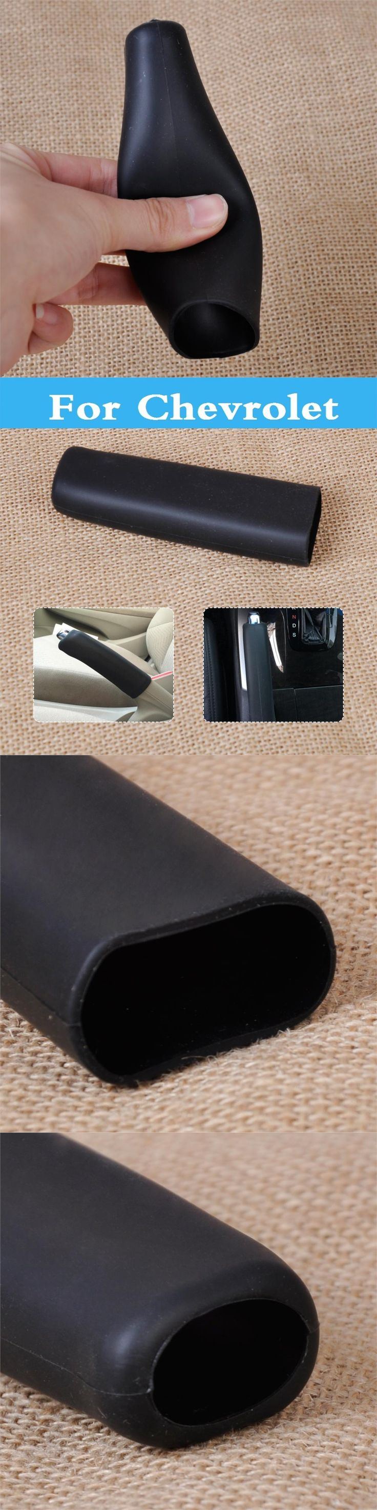 Handbrake Grip Car Anti Slip Parking Hand Brake Boot Cover For Chevrolet Carlo Mw Niva Sail Sonic Spark Lanos Malibu Metro Monte