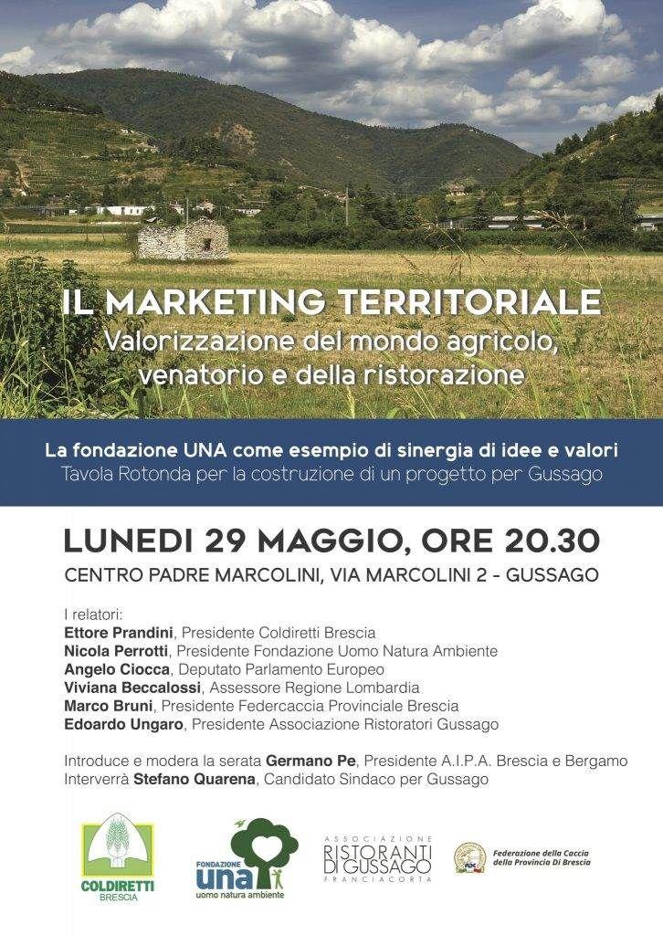 """Lunedì 29 maggio tavola rotonda """"Il marketing territoriale"""" - http://www.gussagonews.it/tavola-rotonda-marketing-territoriale-maggio-2017/"""