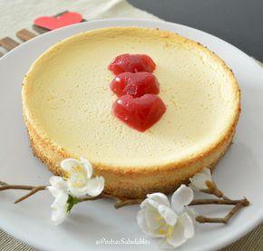 Postres Saludables | Cómo hacer un cheesecake Saludable (light) | http://www.postressaludables.com