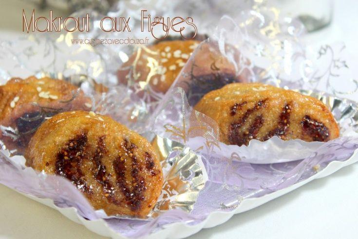 Recette facile de makrout aux figues avec une pâte de figues faite maison. La figue est plus délicate et plus parfumée je trouve. Ces makrout sont excellents