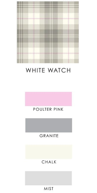 White Watch Tartan - IJP Design