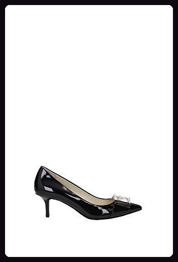MICHAEL KORS Frau dcollet 40R6MCMP1A MICHELLE BLACK MID PUMP, Nero, 35.5 EU - Sandalen für frauen (*Partner-Link)