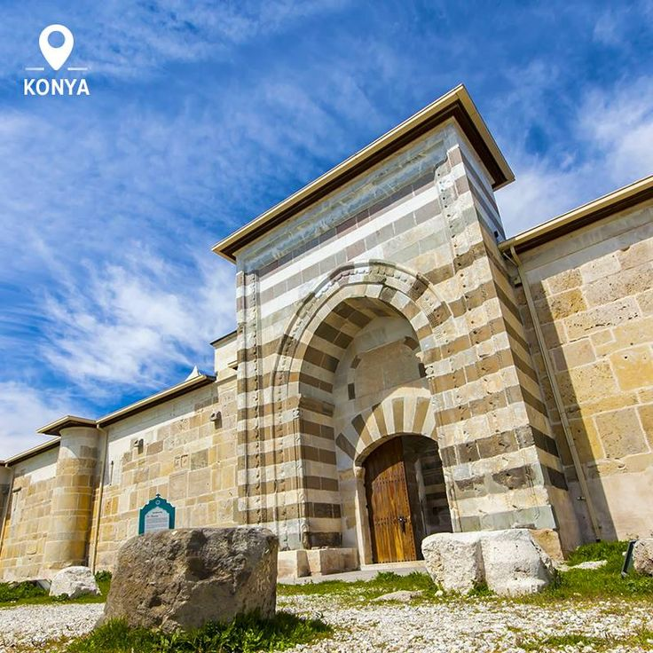 Zazadin Han is one of the best examples of Seljuk architecture, located right in Konya, once itself the capital city of the Seljuk Empire.