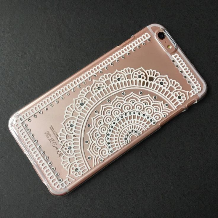 Hand Painted / Hand Drawn Henna Phone case, Mandala Pattern clear Phone case, available in iPhone, Samsung Galaxy, Sony Xperia, LG. Made to order. Do you wish to have a durable, special, beautiful Phone case? Here you are. - clear and transparent - artistic and stylish outlook The Ph...