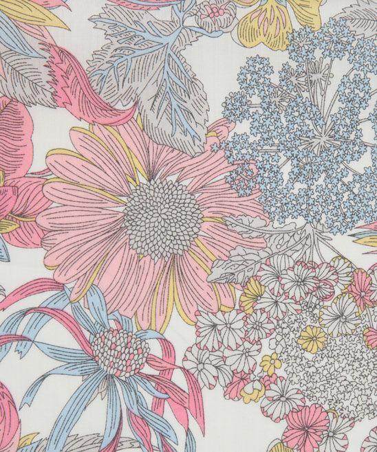 Angelica Garla D Tana Lawn: Liberty Art Fabrics.