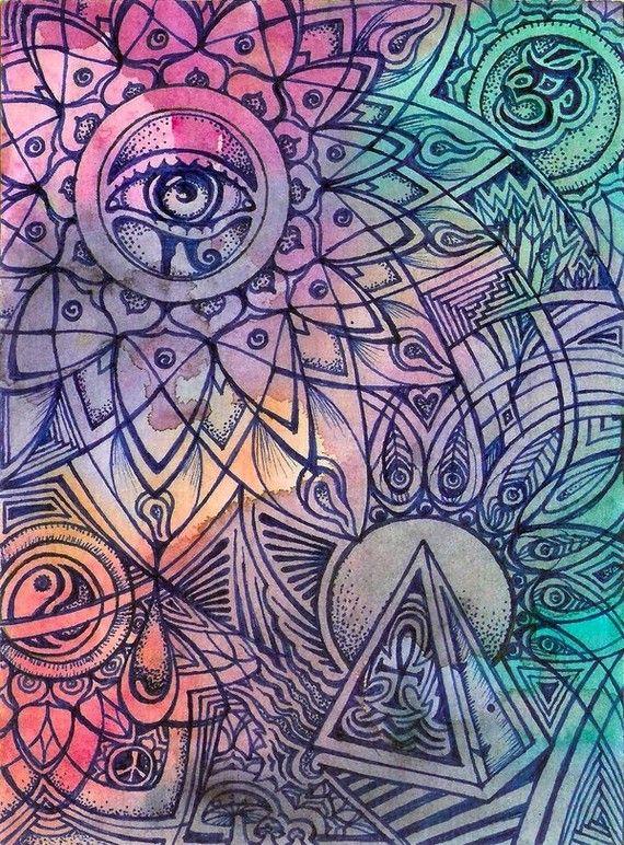 Aquarius Sun by LauraBorealisis on Etsy, $200.00