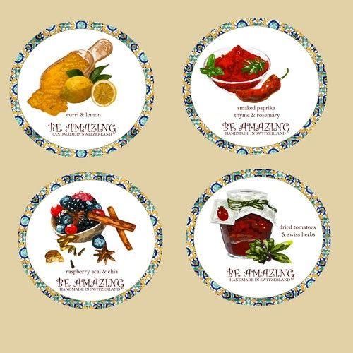 Proposte   Create stickers for our gift box   contest di Sticker
