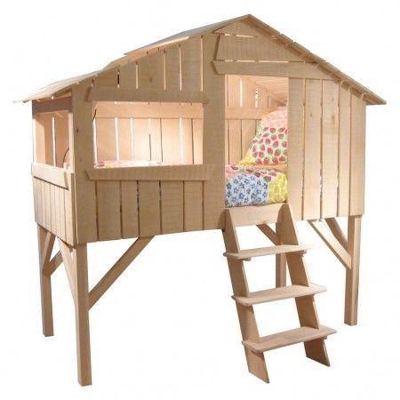 Treehouse Single Bed Limewood Unvarnished - The Conran Shop